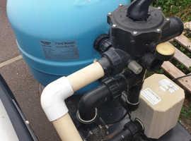 Pond master bead filter