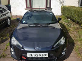 Toyota Gt86, 2012 (62) Grey Coupe, Automatic Petrol, 34,000 miles