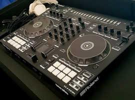 Roland DJ505 4 Deck 2 ch Controller TRS Sequencer Serato DJPro