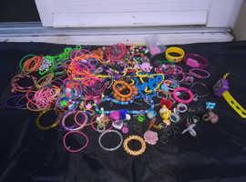 Large Job Lot Of Childrens Jewelry