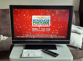 Sony 32 inch LCD TV w/ Freeview