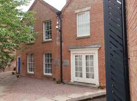Two offices to let in Uttoxeter town centre.