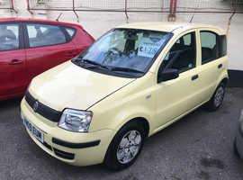 Fiat Panda, 2009 (09) Yellow Hatchback, Manual Petrol, 77,131 miles