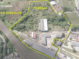 Industrial property in Poland, 70906m2, with buildings and own railway siding