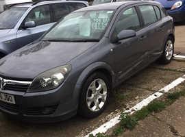 Vauxhall Astra, 2006 (06) Grey Hatchback, Manual Petrol, 109,457 miles