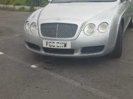 Bentley Continental, 2004 (04) Silver Coupe, Automatic Petrol, 99,200 miles