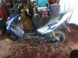 Spares or repairs Suzuki scooter