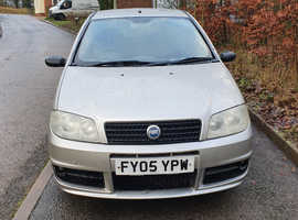 Fiat Punto, 2005 (05) grey hatchback, Manual Petrol, 57,000 miles