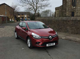 Renault Clio, 2018 (18) Red Hatchback, Manual Petrol, 4,352 miles
