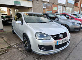 Volkswagen GOLF GTI EDITION30 230, 2008 (08) Silver Hatchback, Manual Petrol, 175,000 miles