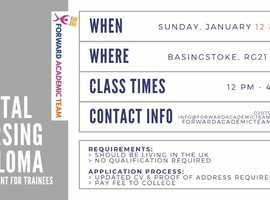 Dental Nursing Diploma/Courses in Basingstoke-January 12 and 26