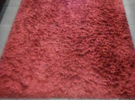 Two Red / Burgundy rugs