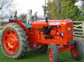 A lovely 1966 Nuffield 10/60 tractor for sale