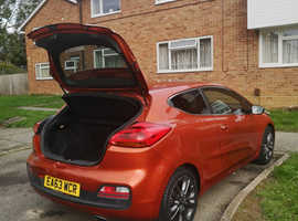 Kia Ceed, 2013 (63) Orange Hatchback, Manual Petrol, 75,726 miles