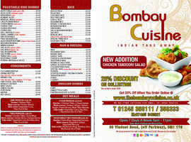 Bombay cuisine Chelmsford