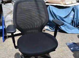 Cheap Furniture Office Clearance - Desk Chair with adjustable armrest
