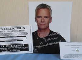 Richard Dean Anderson star gate actor autograph official Stargate autographs
