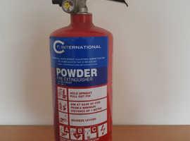 Dry Powder Fire Extinguisher. 2Kg