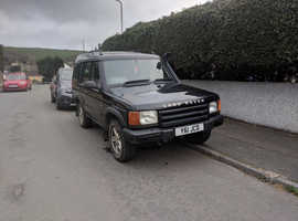 Land Rover Discovery, 2001 (Y) Black Estate, Automatic Diesel, 209,000 miles