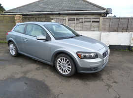 Volvo C30, 2006 (56) Silver Hatchback, Automatic Diesel, 133,789 miles