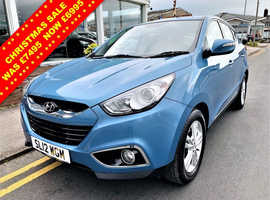 Hyundai Ix35, 2012 (12) Blue Estate, Manual Petrol, 62,060 miles