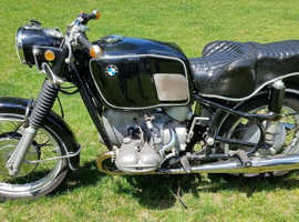 1969 BMW R69US  motorcycle in excellent plus condition