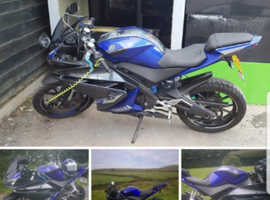 Yzf r 125 2014 full service history