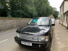 Land Rover Range Rover, 2005 (05) Black Estate, Automatic Diesel, 132 miles