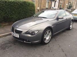 BMW 630 CI 3.O 2005 (05) Grey Coupe, Automatic Petrol, 92,000 miles