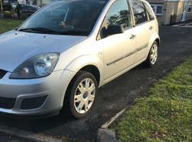 Ford Fiesta, 2006 (56) Silver Hatchback, Manual Petrol, 71,512 miles