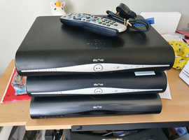 3 Sky HD boxes for sale