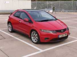 Honda Civic, 2008 (58), Manual Diesel, 121,126 miles