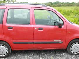 Suzuki WAGON R+, 2004 (04) Red Estate, Manual Petrol, 98,000 miles