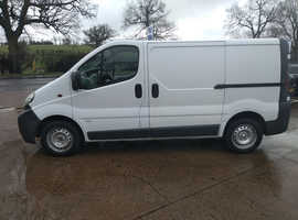 Vauxhall Vivaro 1.9 Diesel Van work van