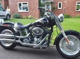 Harley-Davidson Softail FLSTF Fat Boy Custom Cruiser