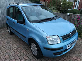 Fiat Panda, 2005 (05) Blue Hatchback, Manual Petrol, 141,000 miles