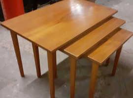 Mid Century Teak Nest of Tables
