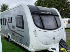 Swift Conqueror 565, 2012 Caravan
