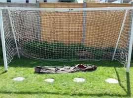 Garden sized Football Goal