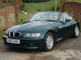 BMW Z3 1.9 ROADSTER LOW MILEAGE 85000 (AUTO)