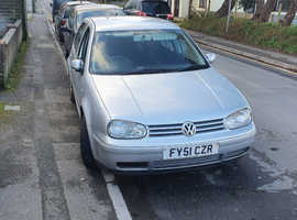Volkswagen Golf, 2001 (51) Silver Hatchback, Manual Petrol, 131,916 miles