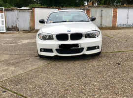 BMW 1 series, 2011 (11) White Coupe, Automatic Diesel, 89,000 miles
