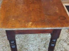 Antique Pine Farmhouse Table