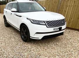 Land Rover RANGE ROVER VELAR, 2020 (20) white estate, Automatic Diesel, 5,750 miles