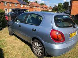Nissan Almera, 2004 (04) Blue Hatchback, Manual Petrol, 103, 937 miles approx