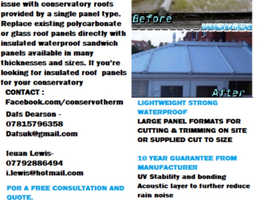 Conservatory roofing specialists