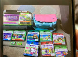 all boxed as new kids leap pad ultimate tablet with loads games etc bargain £120