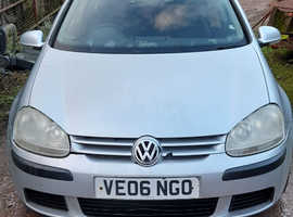 Volkswagen Golf, 2006 (06) Silver Hatchback, Manual Diesel, 190,336 miles