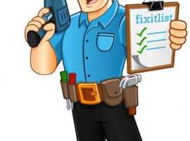 Handyman Multi Trader Our John tel No Job To Small (Min - £25)