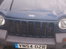 Jeep Cherokee, 2004 (54) Blue 4x4, Automatic Diesel, 144,044 miles